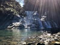 冬の粟又の滝⑥