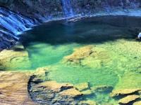冬の粟又の滝